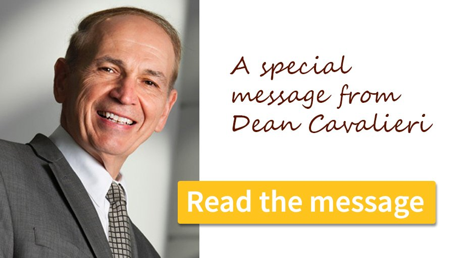 Click here for a message from the dean
