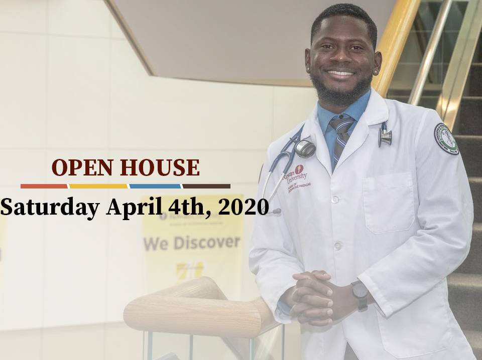 Register for our open house on April 6