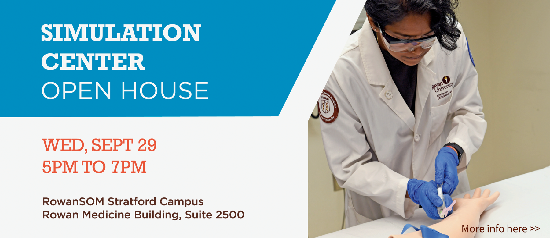 Simulation Center Open House - Click for more info